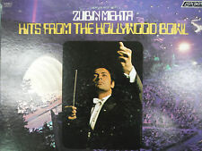 HITS FROM THE HOLLYWOOD BOWL ZUBEN MEHTA  33RPM EX 111615 TLJ