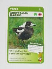 Woolworths Aussie Animals Baby Card -7 Australian Magpie