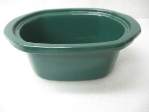 Replacement Rival Oval Crock Pot Green Insert 3960 3760 3745 3751 3755