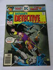 Batman Detective Comics  #460 vtg comic DC comics Comic book