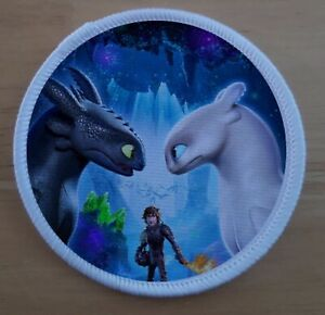 "3"" How To Train Your Dragon Fandom Sublimation Patch badge"