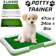 PET POTTY TRAINER FLOOR TRAINING Home Pad Dog Puppy Patch Litter Toilet Tray NEW