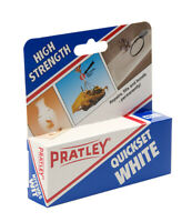 1 x Pratley Quick Set White Epoxy Adhesive 2 x 20ml Tubes 85139 New