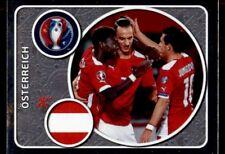 Panini Euro 2016 Team Photo Austria Foil No. 573
