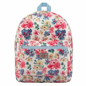 Cath Kidston Woodstock Flowers Off White Backpack Rucksack Kids Bag UK Stock