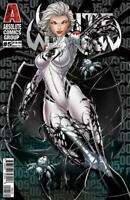 White Widow #5 Retail Lenticular Cover - Jamie Tyndall - Absolute Comics Group