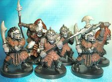 Dungeons & Dragons Miniatures Lot  Orc Warrior Orc Berserker Cleric !!  s114
