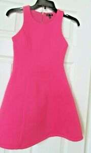 Girls Max and Riley A line pink sleeveless dress M