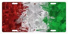 ITALY Custom License Plate ITALIAN ITALIA Emblem PAINT Version