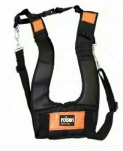 Harness Rolson 68590 Comfortable Holding Padded Suspender Strap Metal D Ring