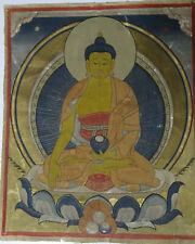 19TH CENTURY TIBETAN BUDDHIST THANGKA