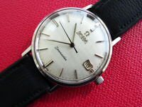 VINTAGE  1961   MEN'S   OMEGA  SEAMASTER   DATE   AUTOMATIC  CAL  562   CLEAN
