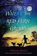 Where the Red Fern Grows by Wilson Rawls (2016, Hardcover)
