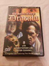The Satanic Rites of Dracula (DVD, 2006)