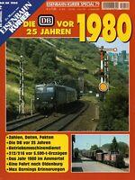 Eisenbahn Kurier EK special Heft 79 Die DB vor 25 Jahren 1980 Bundesbahn spezial