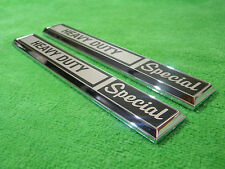 NEW 1970 1971 1972 Ford F100 F250 F350 Heavy Duty Special Cowl Emblem Pair L@@K