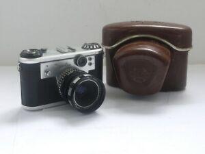 Corfield Periflex Gold Star Leica Copy + Corfield 50mm f2.8 Lumax L39 lens
