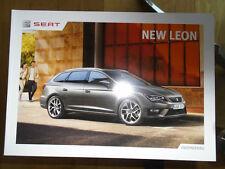 Seat Leon range brochure Nov 2013