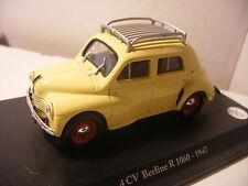 Voiture ELIGOR 1/43 RENAULT 4CV Berline Type R 1060 1947 4 cv