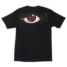 Santa Cruz Rob Roskopp EYE Skateboard T Shirt BLACK XL