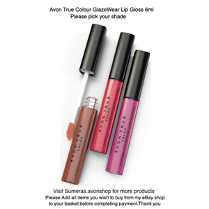 Avon True Colour Glazewear Lip Gloss ~ Various Shades ~ Free Same Day P&P