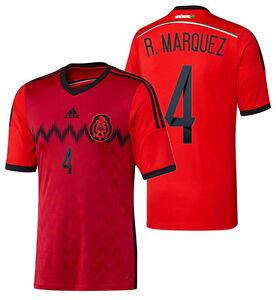 ADIDAS RAFAEL MARQUEZ MEXICO AWAY JERSEY FIFA WORLD CUP 2014