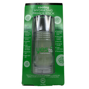 Yes To Cucumbers Cooling Hydrating Primer Stick 1 oz  Free Shipping