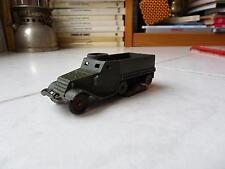 Half-Track Ref 822 militaire Dinky Toys Meccano 1/43 jouet miniature ancien