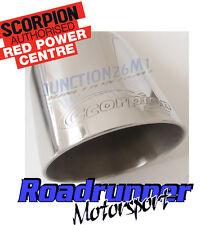 SCORPION FORD FOCUS st225 mk2 2.5 Turbo Performance Exhaust Cat Indietro Non Res