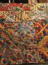 St. Jude Childrens Hospital Hand Made Finished Quilt Cotton Fabric 35� W X 46� L