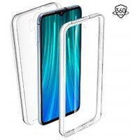 Coque Etui Integrale Rigide Anti Choc 360 Avant Arriere pour Xiaomi Redmi Note 8