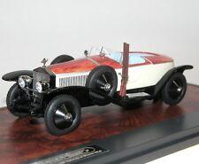 MATRIX SCALE MODELS, 1925 ROLLS ROYCE Barker torpille Maharaja of bïkaner, 1/43