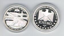 1,)  10 Euro Silber PP 2002 D , U-Bahn - 925er Silber - Spiegelglanz