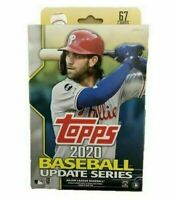 2020 Topps Update Hanger Box (1 Pack/67 Cards: 6 Inserts)