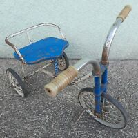 VINTAGE 1960 RUSSIAN USSR SOVIET METAL KIDS CHILDREN TRICYCLE Mалыш - Malish