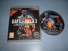 BATTLEFIELD 3 LIMITED EDITION PLAYSTATION 3 PS3 (envoi suivi)