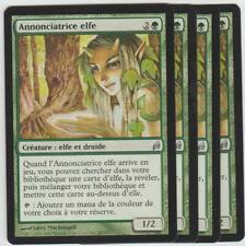 ►Magic-Style◄ MTG - 4x Elvish Harbinger / Annonciatrice elfe x4 - Lorwyn - NM