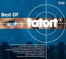 BEST OF TATORT (KLAUS DOLDINGER, SANTANA, NINA HAGEN,...) 3 CD NEW!