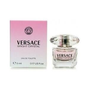 BRIGHT CRYSTAL  5ml EDT  ( MINI )   PERFUME FOR WOMEN BY VERSACE