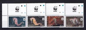 Tonga - WWF = Marine Nature  Fauna - stamps - perf. MINT MNH** AF