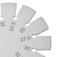 Stainless Steel Bevel Gauge Angle Protractor Range 15°-120° Gage Tools
