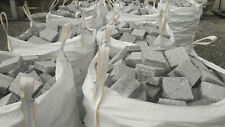 1 m² de pavés en granit neuf - 10X10X4 cm