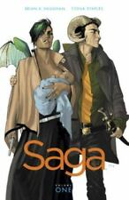 Saga Vol. 1 by Brian K. Vaughan (2012, Paperback)