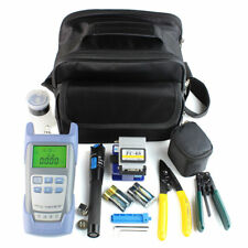 Fiber Optic FTTH Tool Kit with FC-6S Fiber Cleaver and Optical Power Meter 5kmTF