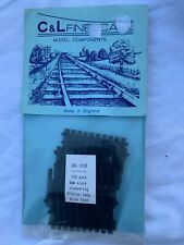 C & L Finescale 4mm  4SL 102B SLEEPERS - 8'6 LONG THICK PACK 100