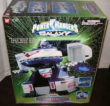 ✨New! Vintage 1999 Saban's POWER RANGERS Lost Galaxy Deluxe ZENITH CARRIERZORD😍
