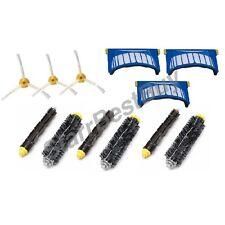 brush +Side Brush +AEROVAC filters irobot Roomba 550 585 630 650 660 551 595 655