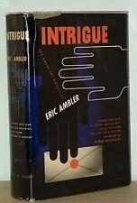 Eric Ambler - Intrigue - 1st 1st - Coffin Dimitrios / Cause for Alarm / Etc - NR