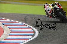 Danilo Petrucci Hand Signed Pramac Ducati 12x8 Photo 2015 MotoGP 8.