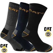 CAT Caterpillar Crew Work Socks Sizes 6-11 Multibuy Savings Free P & P in Uk